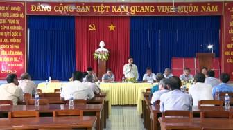"""Phú Tân tuyên truyền, đối thoại với người dân về chủ trương sản xuất """"2 năm, 5 vụ"""""""