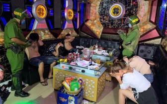 Phát hiện 7 đối tượng có mặt trong Karaoke Katina II dương tính với chất ma túy