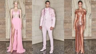 Versace mang màu sắc hội họa trừu tượng đương đại vào bộ sưu tập mới