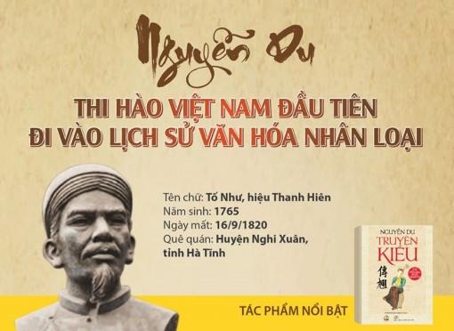 Nguyễn Du - Thi hào Việt Nam đầu tiên đi vào lịch sử văn hóa nhân loại