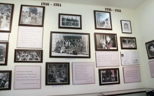 Bảo tàng về nhà thơ - chiến sĩ cách mạng Tố Hữu