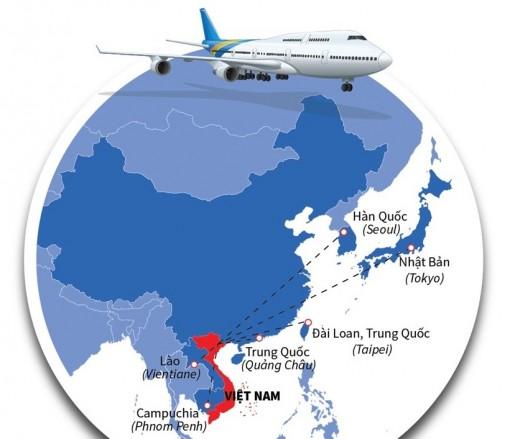 Tháng 9-2020: Khôi phục 6 đường bay thương mại quốc tế