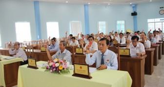 HĐND huyện Chợ Mới thông qua 4 nghị quyết phát triển kinh tế