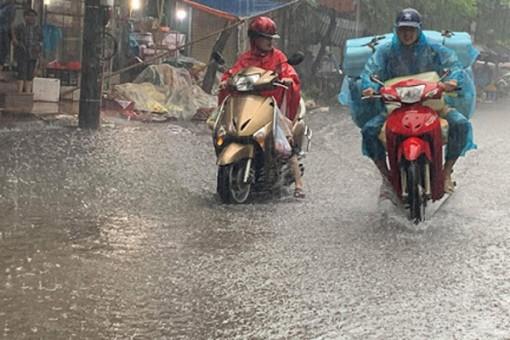 Dự báo thời tiết 17-9, nhiều nơi mưa to do ảnh hưởng bão số 5