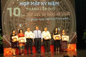 Kỷ niệm 10 năm thành lập Quỹ Tiếp sức tài năng An Giang