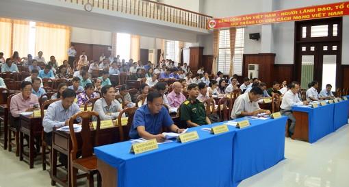 Tịnh Biên: Triển khai Nghị quyết Đại hội Đảng bộ huyện lần thứ XII (nhiệm kỳ 2020-2025)
