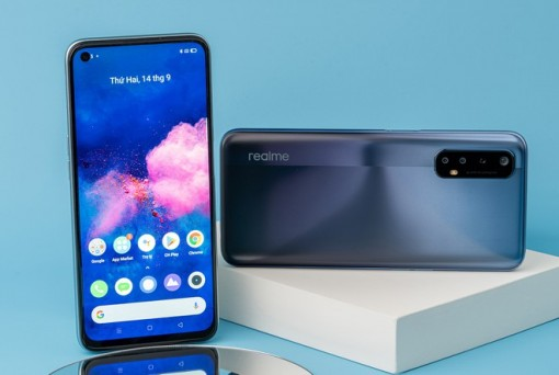 Smartphone Realme 7 đã có ảnh chính thức