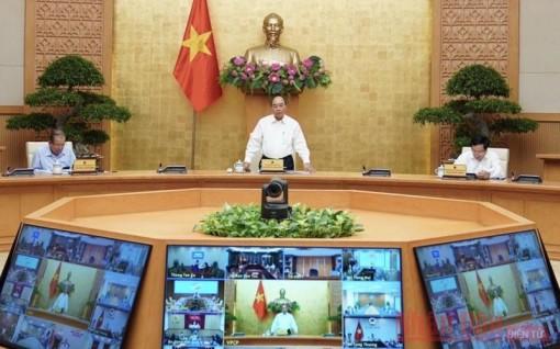 Thường trực Chính phủ họp ứng phó Covid-19