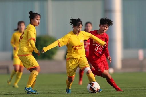 Khởi tranh Giải nữ VĐQG – Cúp Thái Sơn Bắc 2020