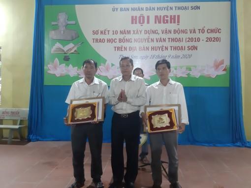 Sơ kết 10 năm Quỹ học bổng Nguyễn Văn Thoại (2010-2020)