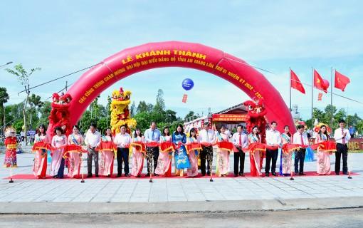 Thoại Sơn: Khánh thành các công trình chào mừng Đại hội đại biểu Đảng bộ tỉnh An Giang lần thứ XI (nhiệm kỳ 2020 – 2025)