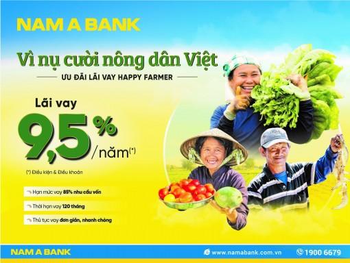 Nam A Bank dành nhiều ưu đãi cho vay nông nghiệp, nông thôn