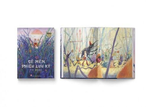 Ra mắt 'Dế mèn phiêu lưu ký' bản đặc biệt, kỷ niệm 100 năm Ngày sinh nhà văn Tô Hoài