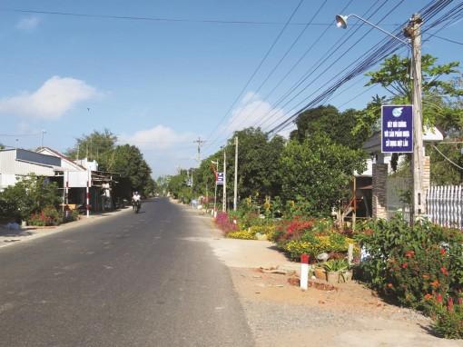 Lắp đèn thắp sáng đường quê