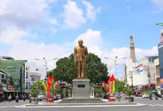 Long Xuyên rực rỡ cờ hoa chào mừng Đại hội đại biểu Đảng bộ tỉnh An Giang lần thứ XI (nhiệm kỳ 2020 -2025)