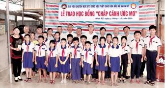 Ban Trị sự Phật giáo Hòa Hảo các địa phương chăm lo công tác khuyến học