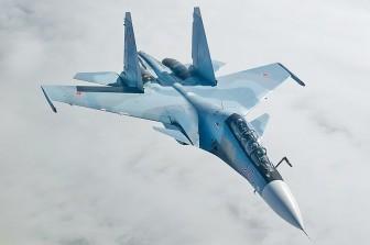 Rơi máy bay Su-30 của Nga