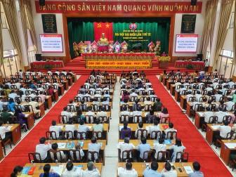 349 đại biểu dự Đại hội đại biểu Đảng bộ tỉnh An Giang lần thứ XI (nhiệm kỳ 2020-2025)