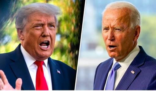 Hiệp đấu đầu tiên của ông Trump và đối thủ Joe Biden