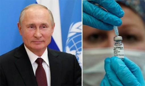 Ông Putin muốn cung cấp miễn phí vắc-xin Covid-19 cho nhân viên LHQ