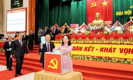 Danh sách Ban Chấp hành Đảng bộ tỉnh An Giang khóa XI (nhiệm kỳ 2020-2025)