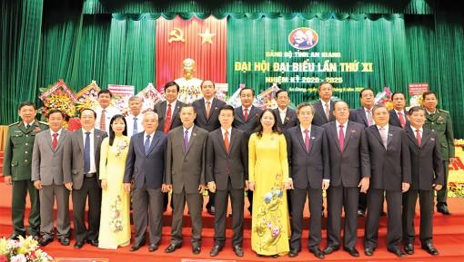 Đại hội đại biểu Đảng bộ tỉnh An Giang lần thứ XI (nhiệm kỳ 2020-2025)