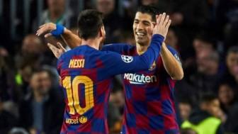 Messi ngỡ ngàng khi Luis Suarez gia nhập Atletico Madrid
