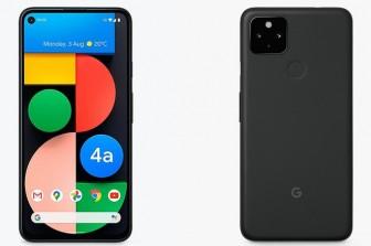 Xuất hiện hình ảnh mẫu máy Pixel 4a 5G