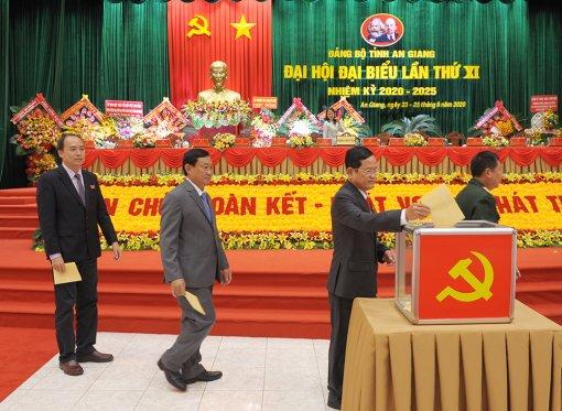 Đồng chí Võ Thị Ánh Xuân tái đắc cử Bí thư Tỉnh ủy An Giang khóa XI (nhiệm kỳ 2020 – 2025)