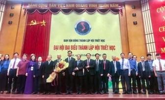 PGS.TS Võ Văn Thắng tham gia Ban Chấp hành Hội Triết học Việt Nam