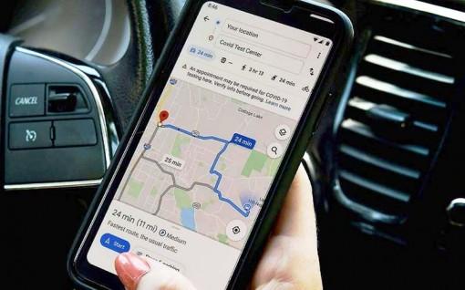 Google cập nhật bản đồ mới giúp cảnh báo mức độ lây nhiễm của Covid-19