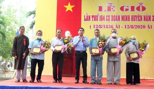 Tổ chức lễ giỗ lần thứ 164 Phật Thầy Tây An Đoàn Minh Huyên