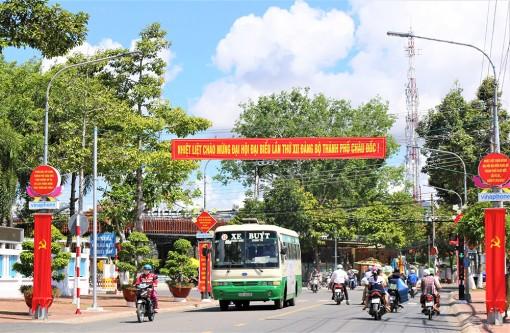 Châu Đốc khắc phục khó khăn, nỗ lực phát triển kinh tế - xã hội