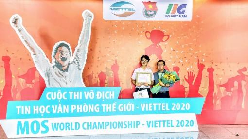Dương Gia Bảo đoạt giải triển vọng vòng chung kết Quốc gia Cuộc thi MOSWC – Viettel 2020