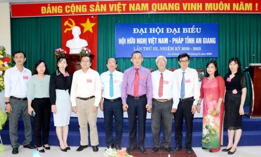 15 đồng chí được bầu vào Ban Chấp hành Hội Hữu nghị Việt Nam – Pháp