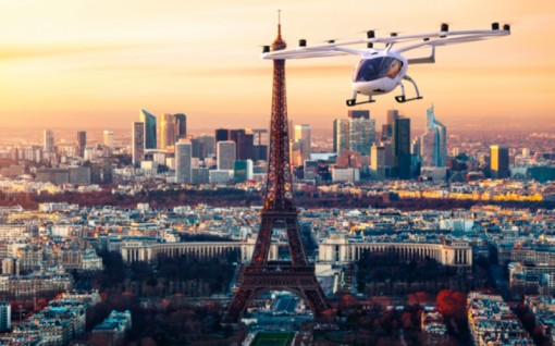 """Pháp chuẩn bị thử nghiệm """"taxi bay"""" phục vụ Olympic 2024"""