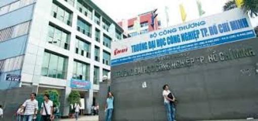 Trường ĐH Công nghiệp TP.HCM công bố điểm chuẩn