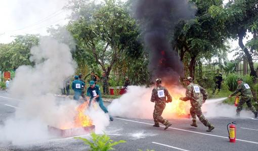 Hội thao Phòng cháy, chữa cháy trong lực lượng vũ trang địa phương tỉnh