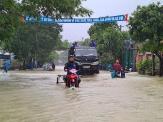 Quảng Nam vỡ đập thủy lợi sức chứa 800 ngàn m<sup>3</sup> nước