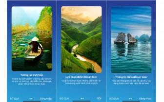"""Tải App """"Du lịch Việt Nam an toàn"""" để yên tâm du lịch"""