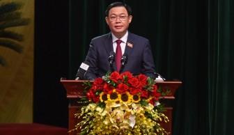 Đồng chí Vương Đình Huệ tái cử Bí thư Thành ủy Hà Nội khóa XVII