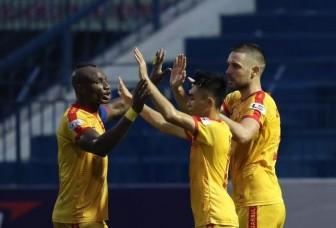 Ngược dòng thắng Quảng Nam của HLV Thành Công, Thanh Hóa chính thức trụ hạng