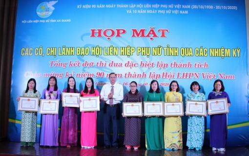 An Giang tổ chức nhiều hoạt động chào mừng ngày thành lập Hội Liên hiệp Phụ nữ Việt Nam (20-10)