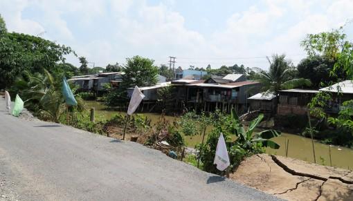 Phú Tân chủ động nhiều giải pháp trước biến đổi khí hậu