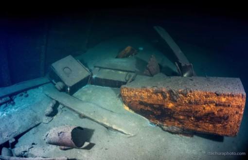 """Xác tàu Đức Quốc Xã có thể chứa kho báu từ """"Căn phòng hổ phách"""" nổi tiếng"""