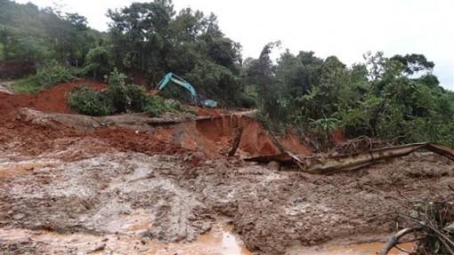 Nguy cơ lũ quét, sạt lở đất cấp độ 4 ở vùng núi Nghệ An đến Quảng Nam