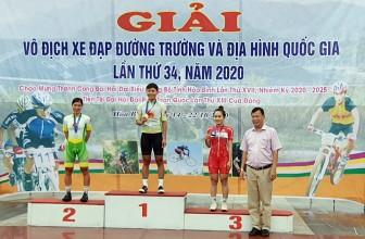Giải vô địch xe đạp đường trường và địa hình quốc gia lần thứ 34 năm 2020: An Giang hạng nhất toàn đoàn nội dung đường trường
