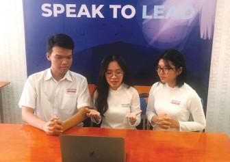 """""""Speak to Lead"""" cuộc thi hùng biện tiếng Anh đầy ý nghĩa"""