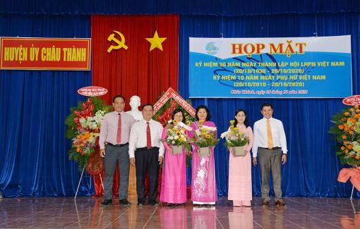 Châu Thành họp mặt kỷ niệm 90 năm ngày thành lập Hội Liên hiệp Phụ nữ Việt Nam