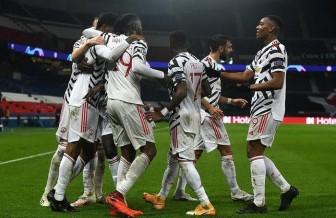 Hàng công khủng tịt ngòi, PSG gục ngã sân nhà trước Man United